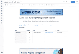 Salesforce utiliza y recomienda Work.com