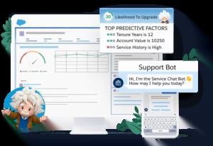 El CRM # 1 Salesforce del mundo es ahora más inteligente con la IA Einstein