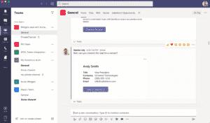 Microsoft Teams para Salesforce