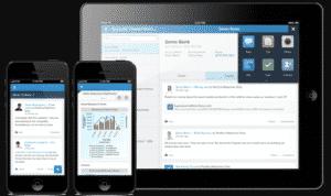 Aplicación móvil Salesforce1 para Microsoft Office