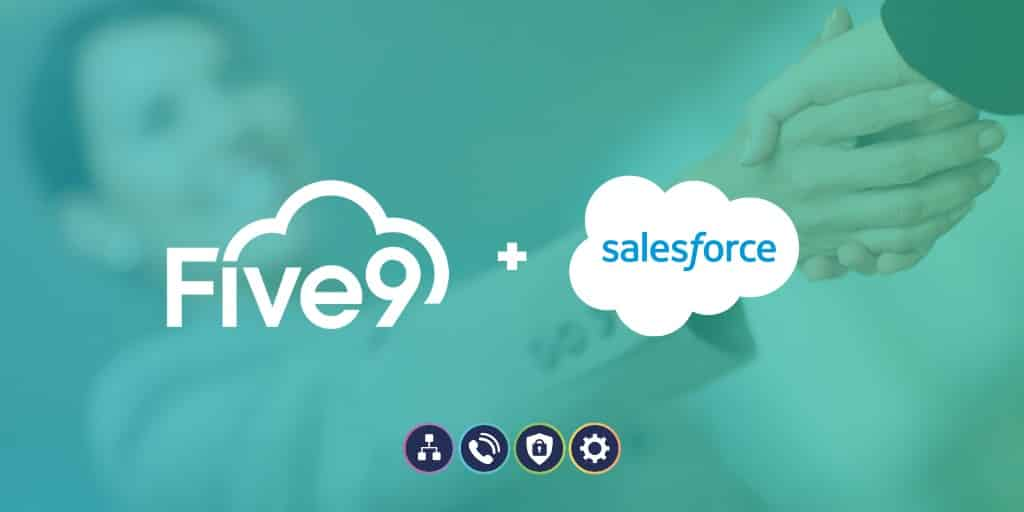Mucho mejor juntos: Salesforce + Five9 —